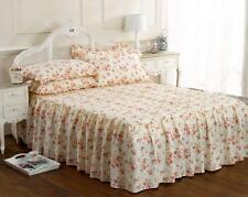 Quilted Ruby Decorated Double Duvet Bedding Set Pink