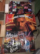 Vintage Converse React Lot of 3 Promo Poster Kevin Johnson & Larry Johnson RARE