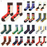 Funny Cute Men's Socks Colorful Cotton Casual Fashion Print Sock Mid Stockings H