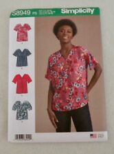 Simplicity Misses Blouses Sewing Pattern. No S8949