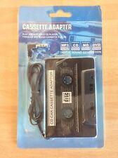 Cassette Adaptor, 3.5mm Jack Plug, MP3 CD Minidisc Player Conversion & Playback