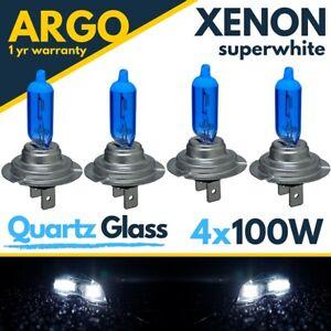 4x H7 100w Xenon 8500k Hid Super Effect Headlight Lamps Fog Light Bulbs 12v 499