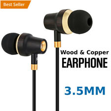3.5MM In-Ear Headphones Headset Earphones EarBuds Sweatproof Gaming Universal BP