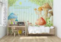 Mushroom house photo Wallpaper wall mural 14411830