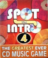 Cheatwell Games Spot the Intro 4 CD The Greatest Ever Music Game Brand New