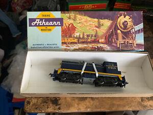Athearn HO Santa Fe 2418 SW1500 Diesel Locomotive In Box Vintage Never Used