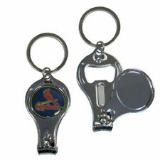 St. Louis Cardinals 3-IN-1 Metal Key Chain w/ Team Emblem MLB Licensed Baseball