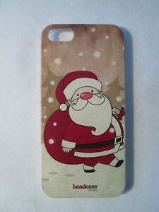 IPhone 5S Festive Santa Claus Hard Phone Case