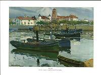 Publicité ancienne le port 1931 Houillière issue de magazine