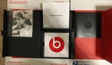 Beats by Dr. Dre Solo HD Box Soft Case Manual Empty Box Only NO HEADPHONES