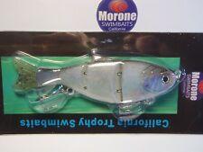 Morone Swimbait White Boy Hard Tail Gizzard Shad Threadfin Swimbaits bass Lure