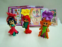 Ü Ei Flower Ring Dolls Komplett VV046 - VV048 mit allen BPZ