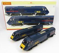 OO Gauge Hornby R2703 Class 43 2 Car HST GNER - 1x Powered Loco + 1x Dummy Loco