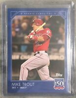 2019 Topps 150 Years of Baseball Card # 3 - Mike Trout Rookie Campaigns 2012
