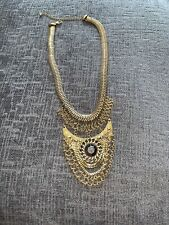 WORN ONCE - TRIBAL NEW LOOK NECKLACE - BRONZE