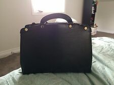 Louis Vuitton Brea MM Black Epi Tote w/ Authenticity Cert