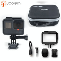 GoPro HERO 5 Camera Waterproof 4K HD Touch Screen 12MP + Portable Gopro Bag cf