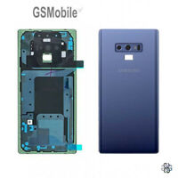 Tapa Trasera Battery Cover Lens Lente Blue Samsung Galaxy Note 9 N960F ORIGINAL