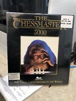"Sealed The Chessmaster 3000 IBM PC Game 3.5"" Disk Chess Software Toolworks New"