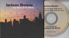 JACKSON BROWNE The Birds Of St. Marks 2014 US 2-track promo CD
