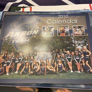 University Of Akron Dance team, Cheerleaders Calendar