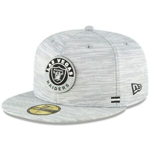NEW ERA LV Las Vegas Raiders 59FIFTY 2020 NFL Sideline Official Fitted Hat Cap