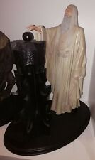 Weta Saruman Christopher Lee Statue Herr der Ringe Lord of the Rings Sideshow