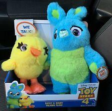 Disney Pixar Toy Story 4 Ducky-Bunny Scented Friendship Plush Nib