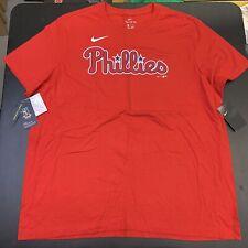 Mens Nike Philadelphia Phillies Shirt 2XL McCutchen NWT New MLB Baseball