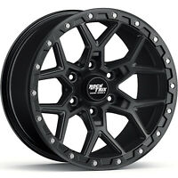 "17"" RockTrix RT107 17x9 -12 Black Wheel Rim 6x139.7 6x5.5 for Tacoma 4Runner"