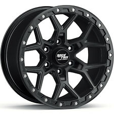 17 Rocktrix Rt107 17x9 12 Black Wheel Rim 6x1397 6x55 For Tacoma 4runner Fits 2004 Toyota Tundra