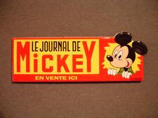MAGNET email véritable PLAQUE EMAILLEE JOURNAL DE MICKEY DISNEY  enamel sign