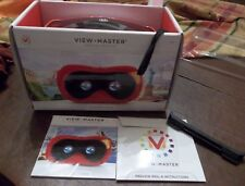 View Master Virtual Reality Starter Pack (Red) New In Box!