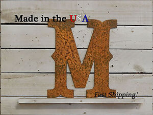 "6"" Metal Letter-Western Decor-Wedding Decor-Country Style Letters-F1004"