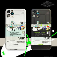 11Pro Cartoon Rick&Morty NIKE Anti Fall Cover For iPhone 7 8Plus XR XsMax Cute