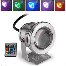 LED Unterwasserleuchte Strahler Flutlicht 10W RGB 12V Scheinwerfer Wasserdicht