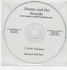 (ET748) Jimmy And The Sounds, Little Victories - DJ CD