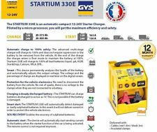 GYS Startium automatisch kompakt 12- 24 Volt Batterie Anlasser Ladegerät Full