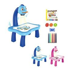 Kids Toy Painting Drawing Table Led Projector Music Toys Kids Arts Crafts