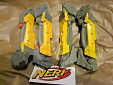 2x Nerf Longshot cs-6 BI PODS soft dart gun rifle n-strike decoration parts mod