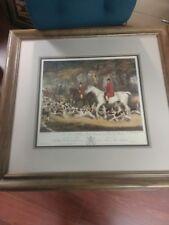 "Richard B. Davis Vintage ""William Smith Huntsman to the Brocklesby Hounds"" Print"
