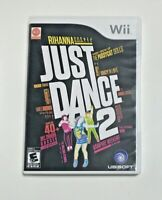 Just Dance 2 (Nintendo Wii, 2010) CIB With Manuals (English, French) - Tested