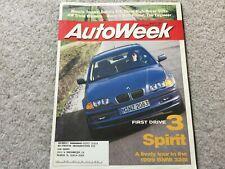 1999 BMW 328i Autoweek Magazine