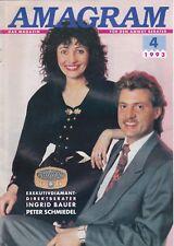Amagram 4 1993 - Amway-Zeitschrift - Ingrid Bauer Peter Schmidel