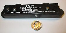 "BOURNS LINEAR MOTION POTENTIOMETER 20K OHM 1.328"" TRAVEL   NOS"