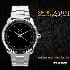 Mazda RX-8 sports car Logo Sport Metal Watch