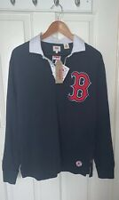 Levis MLB Boston Red Sox Long Sleeve Polo Size Medium
