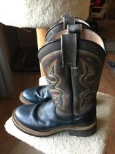 Masterson Cowboy Western Boots Womens Size 8.5 M Black
