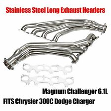 Stainless Long Headers Fits Chrysler 300C Dodge Charger Magnum Challenger 6.1L