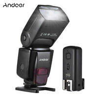 Flash Light GN50 With Trigger Protecting Bag For Canon Nikon DSLR Cameras G2S0